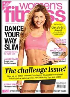 Women's Fitness Magazine 12 Month Subscription for £13 @ iSubscribe
