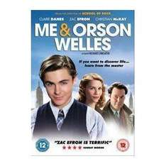 Me and Orson Welles (Zac Efron) (DVD) - It's only a £1 @ Poundland (Instore)