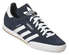 Adidas Samba Blue Suede Trainers - £34 Delivered (using price promise) @ SportShoes.com