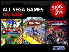 50% off on All Sega XBLA Games (From 19/04 - 25/04)