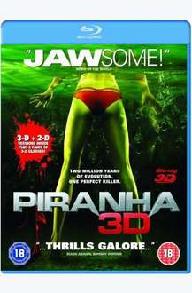 Piranha (3D & 2D) (Blu-ray) - £5.99 Delivered @ Play & Amazon