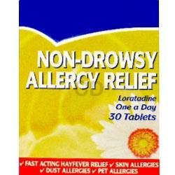 ChemistDirect - Allergy & Hayfever Relief Loratadine 30 Days (Clarityn Substitute) -  0.59p + Postage