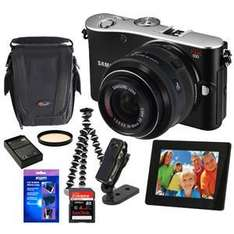 Samsung NX100 Compact Camera with Free £230 Bundle - £299.95 @ Jessops (Collect In Store)