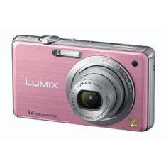 Panasonic Lumix FS11 Digital Camera (Pink) - £69.99 @ Amazon