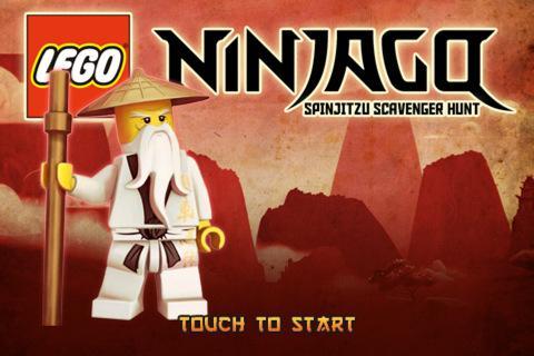 Free iPad/iPhone Game - Lego Ninjago Spinjitzu Scavenger Hunt @ iTunes