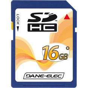 Dane-Elec Secure Digital High Capacity (SDHC) Memory Card - 16GB - High Speed Class 4 - £15.79 @ 7DayShop