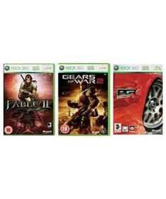 Gears of War 2 / PGR 4 / Fable 2 (Xbox 360) - Only £11.99 @ Argos