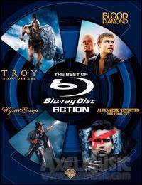 Best of Blu-ray - Action (Wyatt Earp / Troy / Alexander / Blood Diamond) - £21.19 @ Axel Music