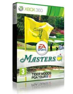 Tiger Woods PGA Tour 12: The Masters with Free Exclusive DLC Putter (Xbox 360) (PS3 Now Out of Stock ) - £25.85 Delivered @ Shopto