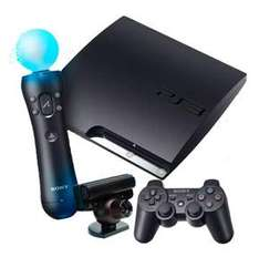 PS3 Slim Console: 320GB & PS3 Move Bundle - £239.99 Delivered @ Viking Direct (+ Possible Cashback)