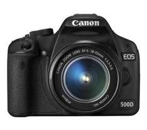 Canon EOS 500D Digital SLR + 18-55mm Zoom - £469.98 @ Dixons (+ Possible Quidco £451)