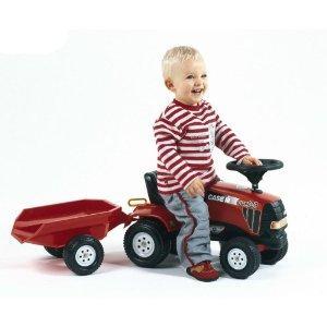 Falk Case IHCVX 120 Tractor and Trailer Ride-on - £24.76 @ Amazon