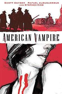 American Vampire: v. 1 By Stephen King and Scott Snyder (Hardback) - £9.22 (with code PPN3WS) @ Book Depository