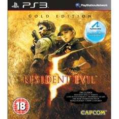 Resident Evil 5: Gold Edition (Move Compatible) (PS3) - £12.99 @ Amazon & Play