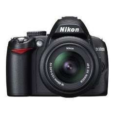 Nikon D3000 Digital SLR Camera 18-55 mm VR Lens Kit - £305.94 @ Amazon