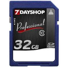 Professional High-Speed Secure Digital High Capacity (SDHC) Memory Card - 32GB - Class 10 - 20MB/s - £25.99 @ 7dayshop or £21.49 @ Amazon Sold by 7dayshop