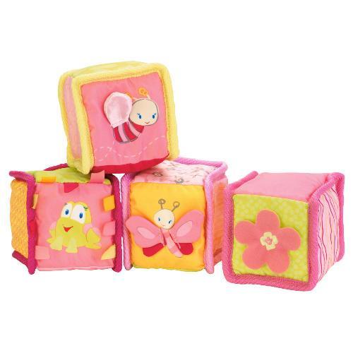 Bright Starts Pink Bloomin' Blocks - £4.99 @ Tesco Direct