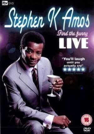 Stephen K Amos: Find The Funny (DVD) -  £1 @ Poundland