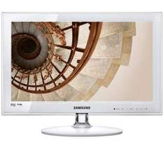 "Samsung UE22C4010 - 22""  Widescreen HD Slim LED TV with Freeview - White - £229 @ Amazon"