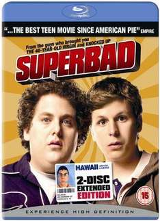 Superbad: Extended Edition (Blu-ray) (2 Disc) - £6.99 @ Sainsburys Entertainment