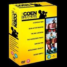 The Coen Brothers Collection 2010 (DVD) (7 Disc) - £5 @ Asda (Instore)