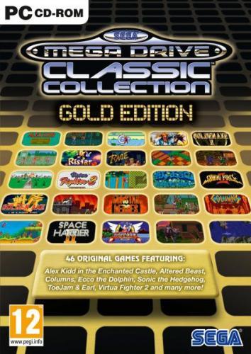 Sega Mega Drive Gold Collection (PC) - £9.85 @ Shopto