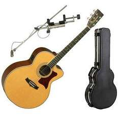 Tanglewood TW55 NS B Electro Acoustic Guitar + Hard Case & Microphone - £599 @ DV247