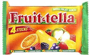 Fruit-tella 4 pack (4 x 41g) 70p at Tesco