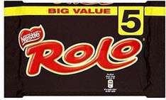 Nestle Rolo (5 x 52g) 5 Pack £1 at Sainsburys