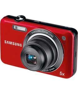 Samsung ES75 14MP Digital Compact Camera (Red) - £59.99 @ Argos