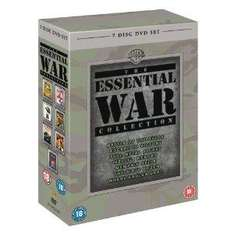 The Essential War Collection - (Battle of The Bulge, Full Metal Jacket, Memphis Belle, Where Eagles Dare, Escape To Victory, Kelly's Heroes, The Dirty Dozen) (DVD) - £10.93 @ Amazon