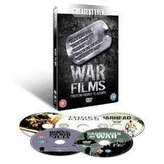 Greatest Ever War Films Collection - Contemporary Classics (Steelbook) (DVD) - £7.93 @ Amazon