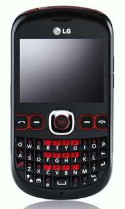 Orange LG Town C300 Mobile Phone - Black - £29.99 + £10 Top Up @ Argos
