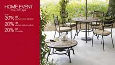 Mark & Spencer Home Event - up to 30% off selected furniture/ 20% off selected Garden/ 20% off homeware