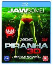 Piranha (3D + 2D Blu-ray) - £5.09 (with code) @ Tesco Entertainment