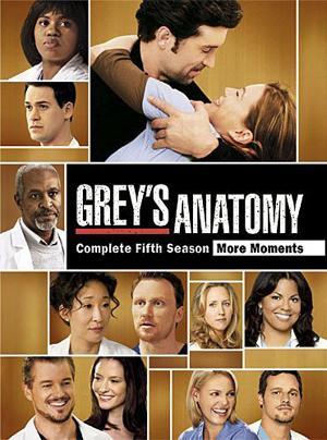 Grey's Anatomy: Series 5 (DVD) -  £17.89 + £1.99 Postage @ Sendit