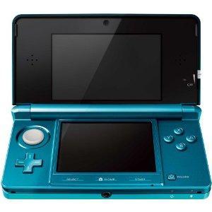 Nintendo 3DS Console Aqua Blue / Cosmos Black - £174.99 @ Amazon