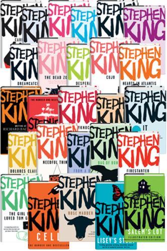 Heads Up - 26 x Stephen King Hardbacks for £35 @ Books Direct Bargains