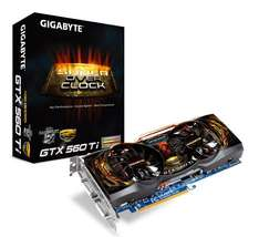 Gigabyte GeForce 560Ti OC GV-N560SO-1GI-950 Super Overclock 950mhz Core - £197.99 @ Scan (Today Only)