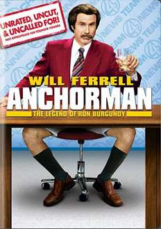 Anchorman: The Legend of Ron Burgundy (DVD) - £1.99 @ Choices UK