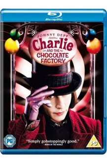 Charlie and the Choclate Factory (2005) (Blu-ray) - £5.99 @ Play