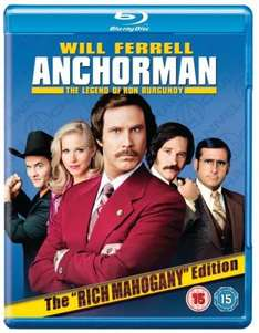 Anchorman: The Legend of Ron Burgundy: The Rich Mahogany Edition (Blu-ray) (2 Disc) - £9.95 @ Zavvi