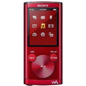 Sony Walkman NWZ-E453 4GB Video MP3 Player (Red) - £32.99 @ Amazon