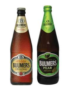 32 pint bottles of Bulmers for £24.90 @ COSTCO. Thats 78p per pint!