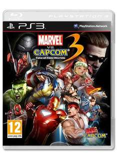 Marvel vs Capcom 3: Fate of Two Worlds (PS3) - £19.98 Delivered @ Game + Double Reward Points + 6% Quidco