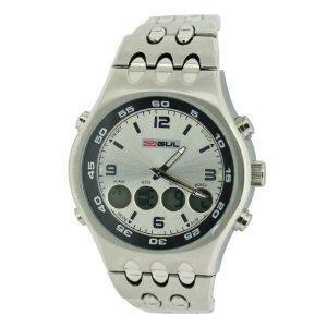 Gul Gts Sunray Silver Dial Ana- Digital Watch - £20.95 @ Amazon
