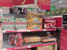Cheap Board Games Monopoly - £7, Pictionary - £8, Scrabble - £7, Operation - £7 @ Asda (Instore)