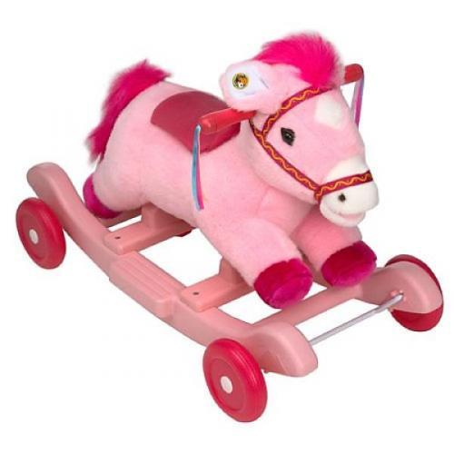 Kiddieland Pink Rocking Horse - Now £28.93 @ Zavvi