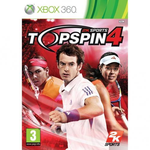 Top Spin 4 (Xbox 360) - £19.98 Delivered @ Gamestation