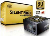 Coolermaster Silent Pro Gold 600W Modular PSU - £69.99 Delivered @ Ebuyer